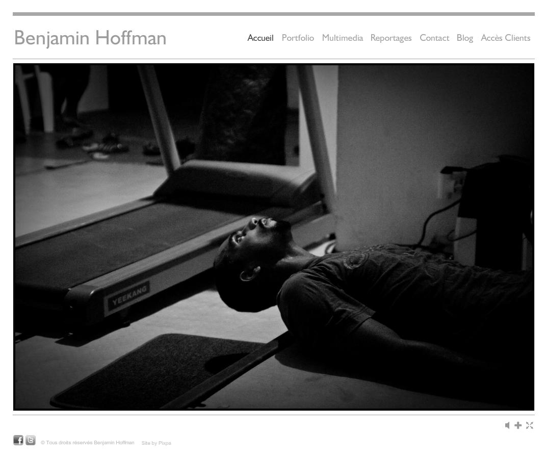 Benjamin Hoffman photography website