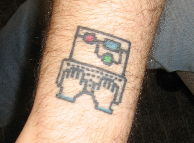 Computer Geek Tattoo