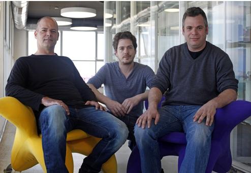 Wix Co-founders: Giora Kaplan, Nadav Abrahami and Avishai Abrahami