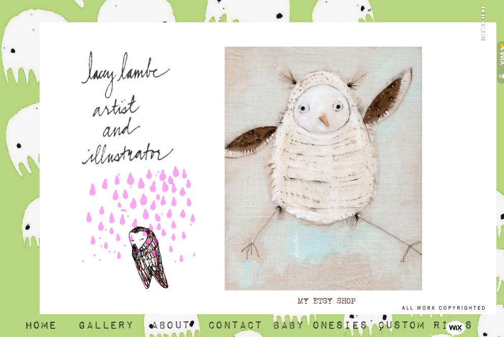 Lacey Lamb Art Portfolio