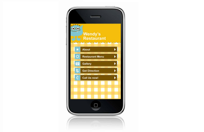 User-friendly mobile web design