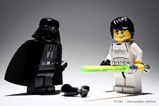 Luke y Darth Vader por photography.andreas