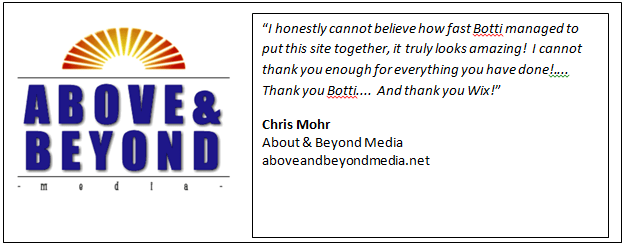 Chris Mohr's Testimonial