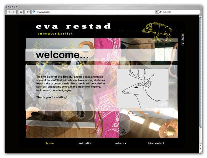 Eva Restad Animator & Artist