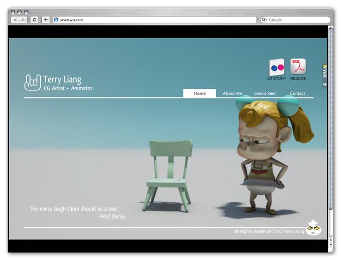 Terry Liang CG Artist + Animator