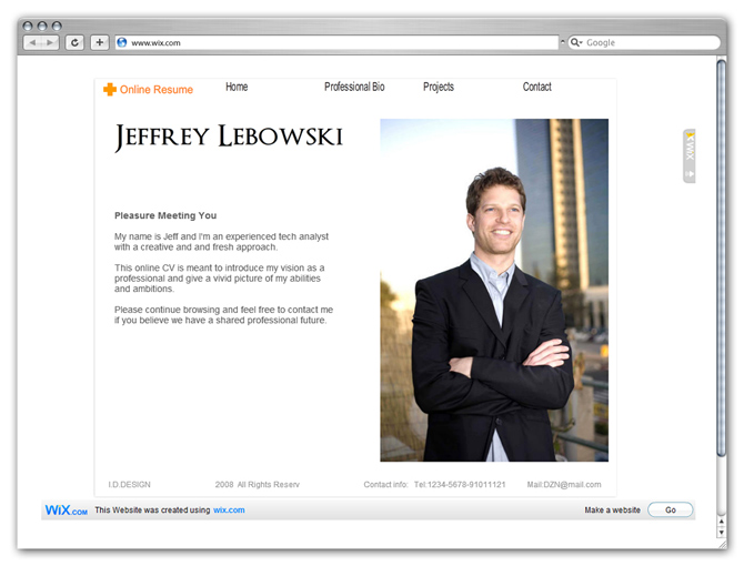 Web Resume Examples Web Design Resume Sample Sample Resumes Resume