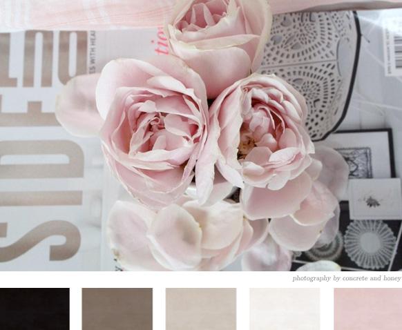 Paletas de Colores Rosa