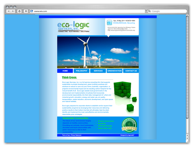 Wix Websites Going Green