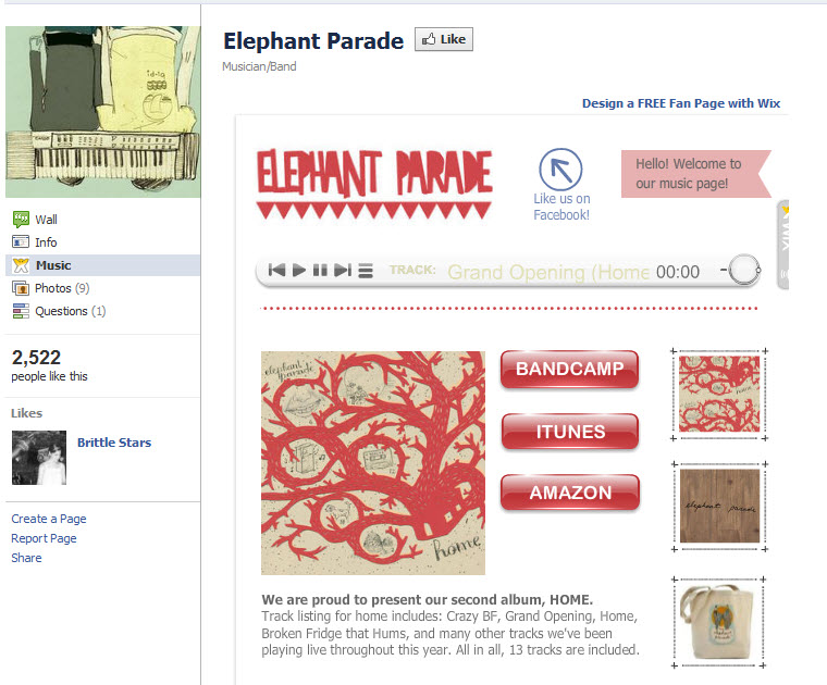 Elephant Parade Sitio en Facebook