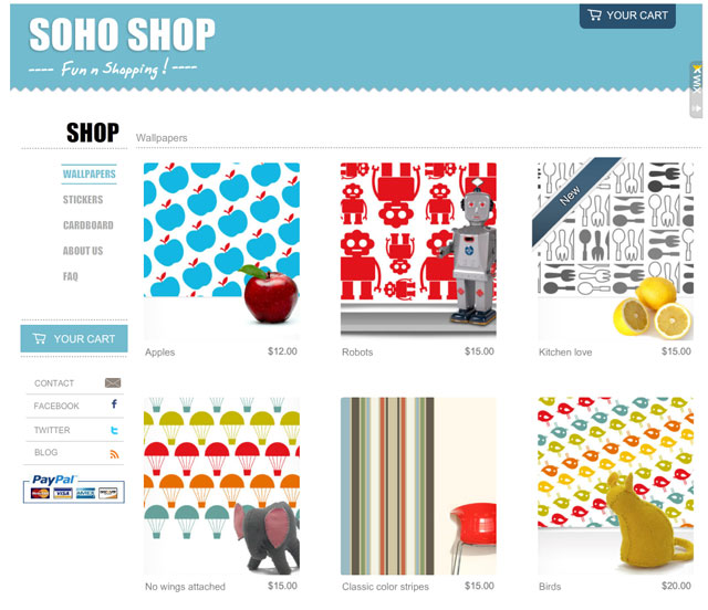 Soho Shop Template