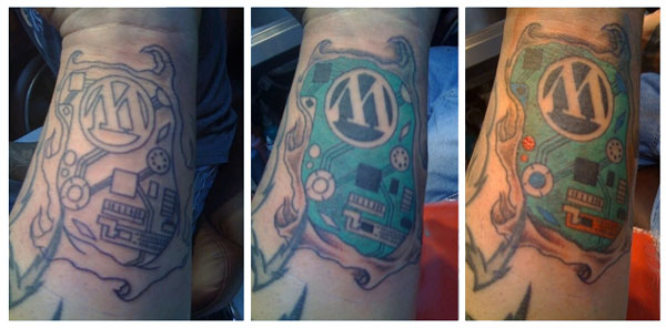 Wordpress Tattoo