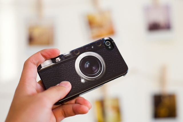 iPhone 4 case leica