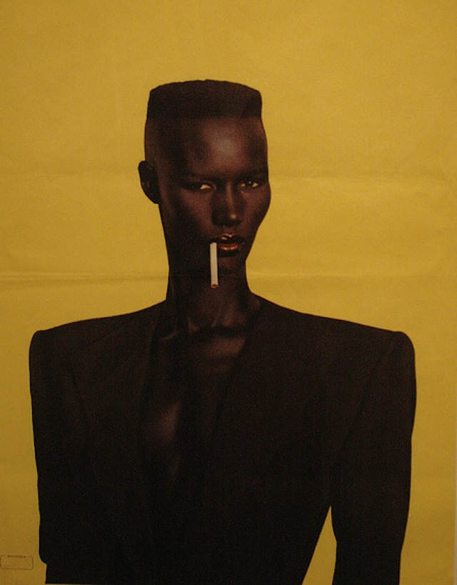Grace Jones Hair