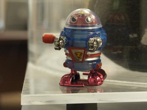 Robot por davedehetre, Flickr
