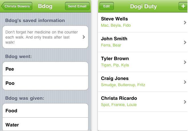 DogiDuty smartphone app