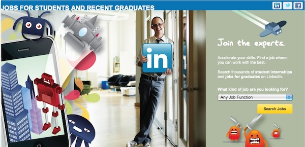 Job hunt on social networks