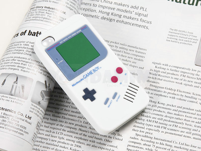 Gameboy blanco
