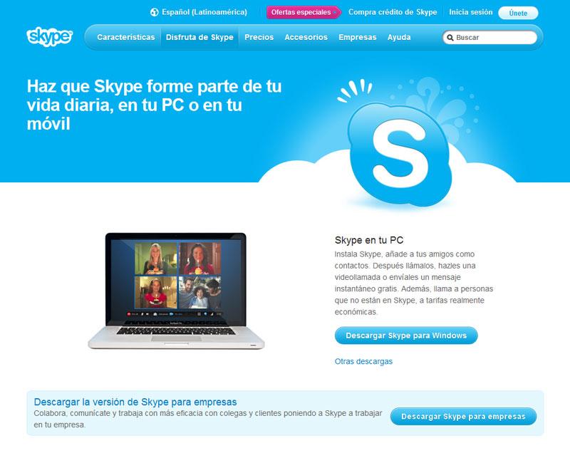 Skype en Español