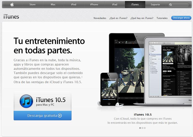 iTunes en Español