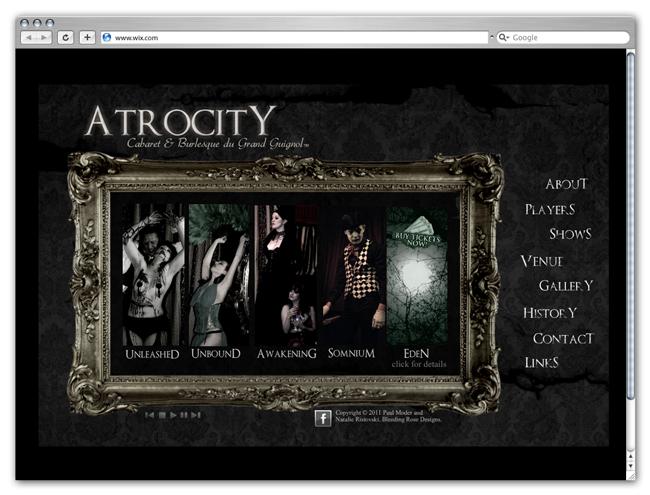 Sitio de AtrocityBurlesque