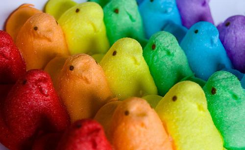 Rainbow Peeps