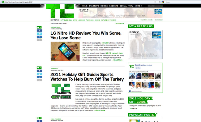 Techcrunch-2011-Gift-Guide