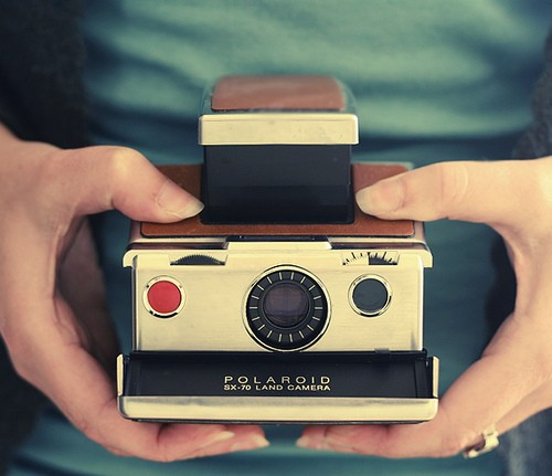Old Polaroid Camera