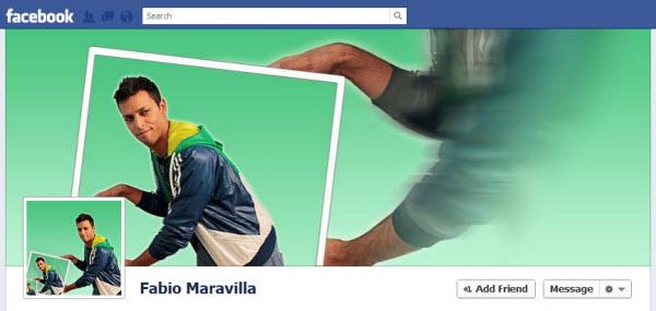 Fabio Maravilla Facebook Timeline Design