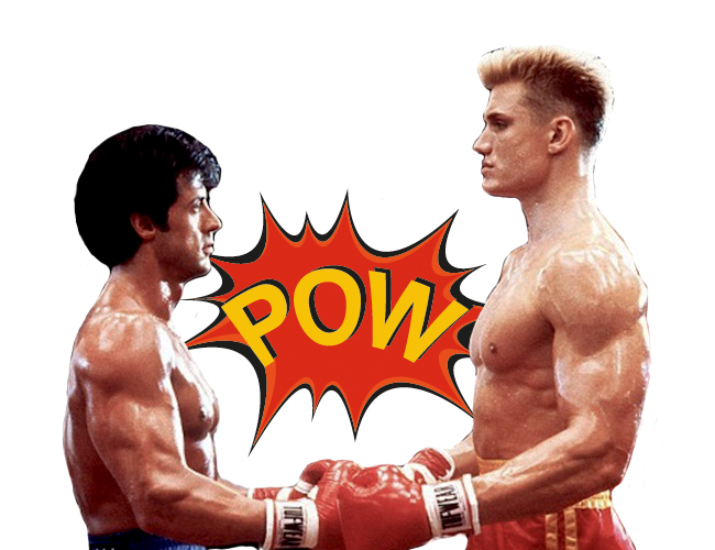 Rocky vs Ivan Drago