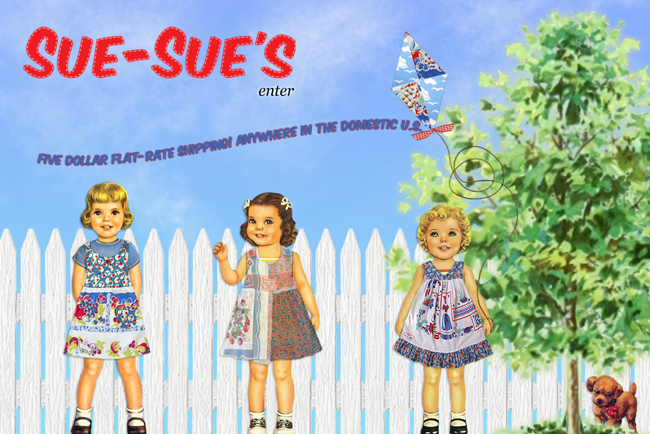 Sue Sues website