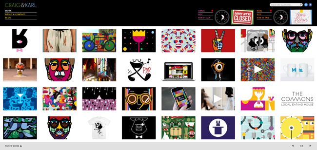 craig and karl website