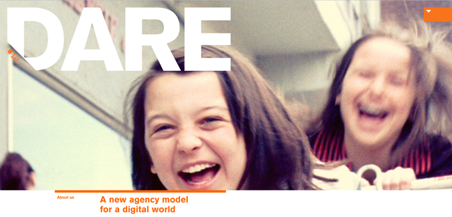 dare agency website