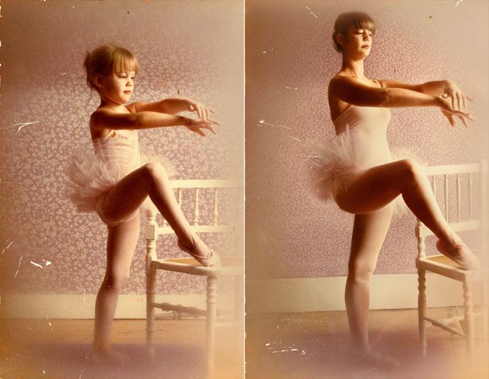 Lea B 1980 & 2011 Paris