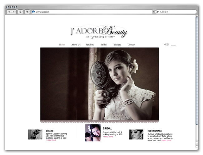 J' Adore Beauty Hair & Makeup Artistry