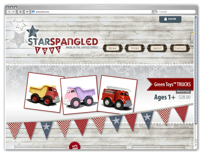 Star Spangled Toys
