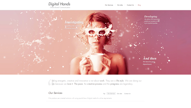 Digital Hands | Online Brand Communication