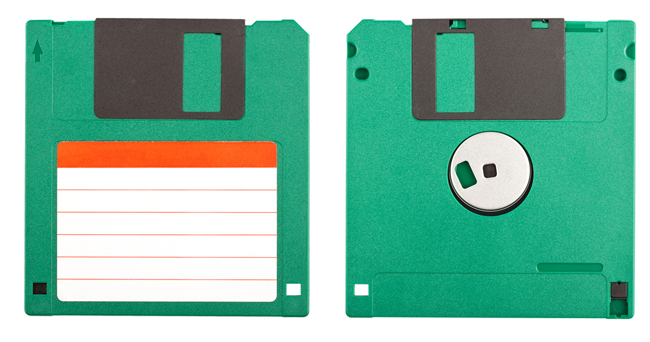 Ancient technology Floppy Discs