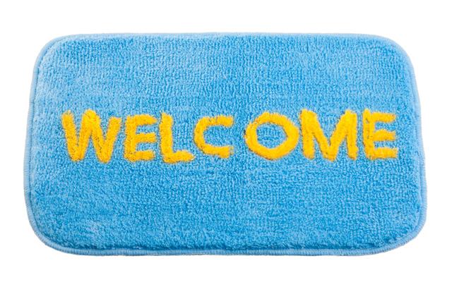 welcome rug