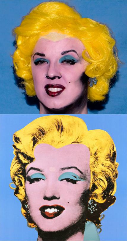 """Andy Warhol, """"Shot Blue Marilyn,1964"""" By Kristi Siedow Thompson"""