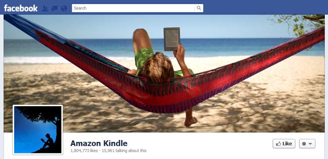 Amazon Kindel Fb cover