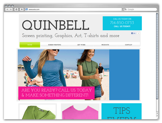 Quinbell Screen Printing and Graphics