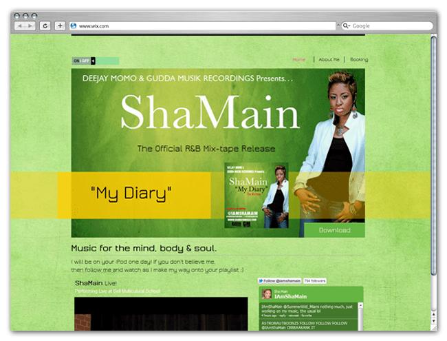 Sha Main website