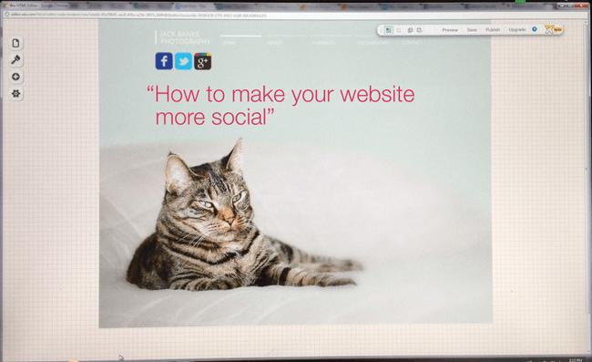 How to make you website more social