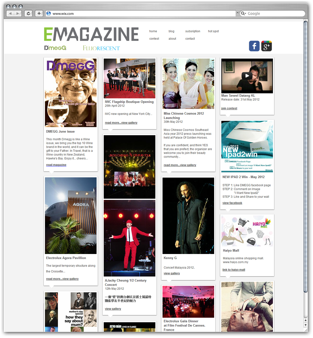 EMagazine, Malaysia