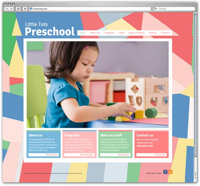 Preschool Template
