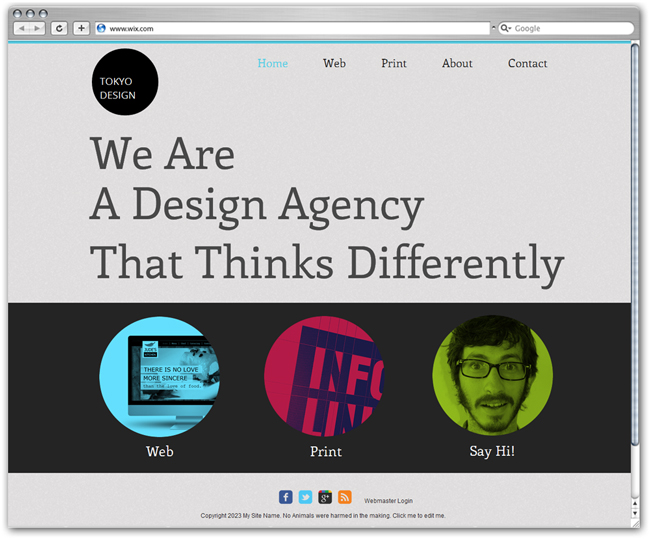 Design Agency Template
