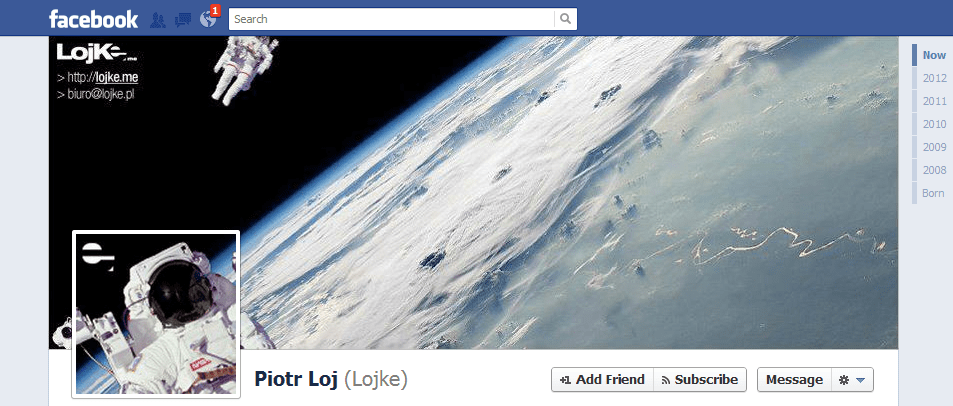 Piotr Loj facebook cover photo