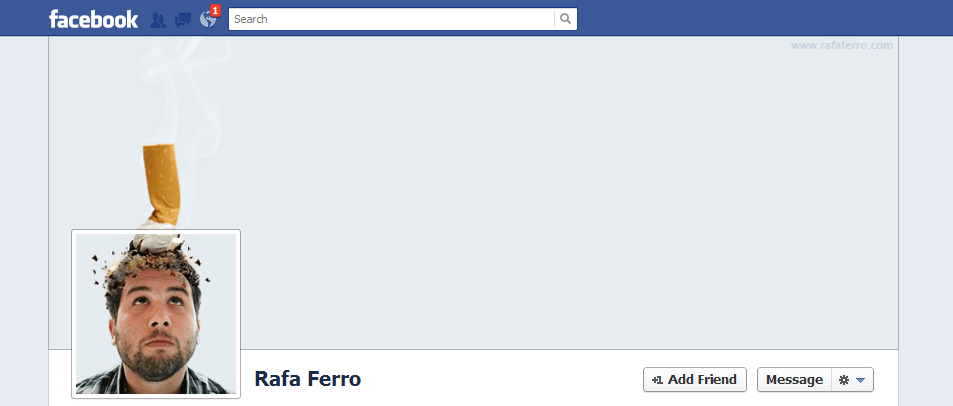 Rafa Ferro facebook cover photo