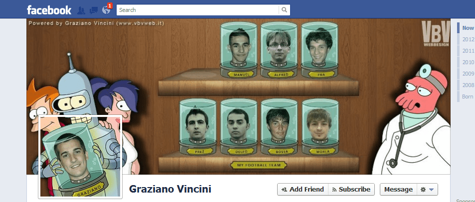 Graziano Vincini facebook cover photo