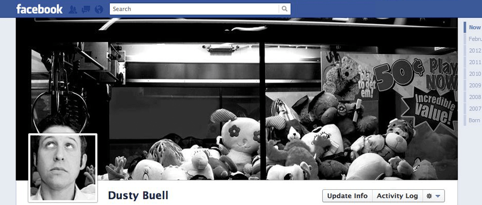 Dusty Buell facebook cover photo